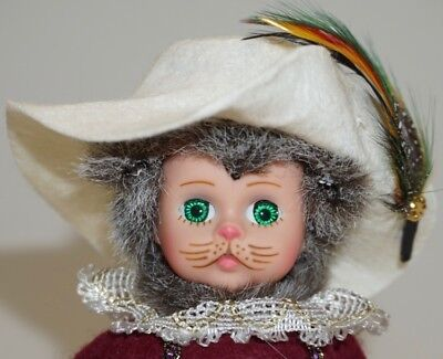 "'PUSS-IN-BOOTS' DOLL ~ 1995 Madame Alexander Storyland Dolls ~ 8"" DOLL~ADORABLE!"