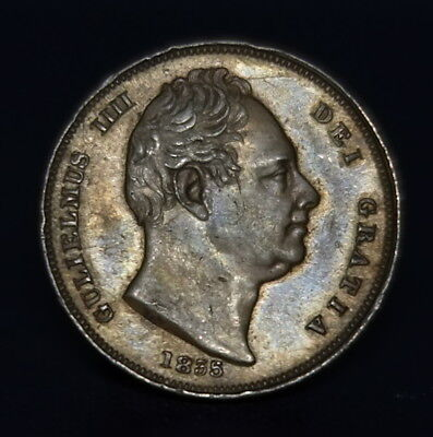 William Iv Copper Farthing, 1835, Excellent, See Photos