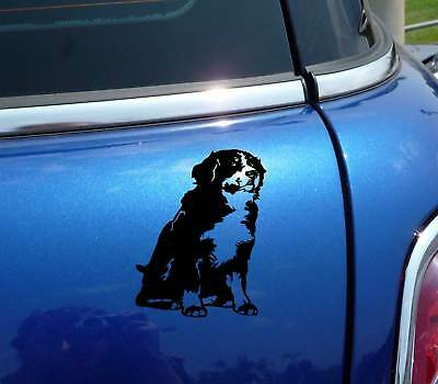 Berner Bernese Mountain Dog Body Funny Decal Sticker Car Vinyl