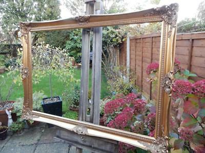 """old picture frame LARGE fits a 36 inch X  24"""" painting"""