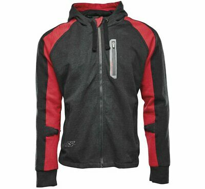 Speed & Strength Men's Armored Hoody Md Red/Black 1103-0807-6053