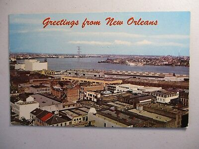 Old Postcard, GREETINGS FROM NEW ORLEANS, LOUISIANA