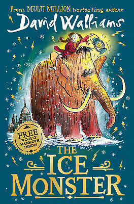 The Ice Monster - Childrens Christmas Book Gift by David Walliams - Hardback