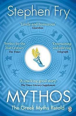 Mythos: The Greek Myths Retold Mythical History Book by Stephen Fry - Paperback
