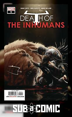 DEATH OF INHUMANS #5 (MARVEL 2018 1st Print) COMIC
