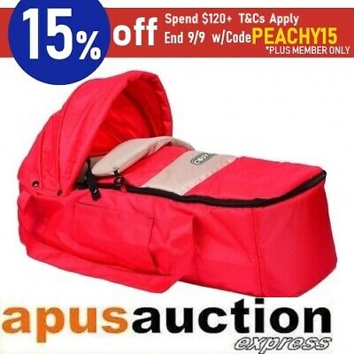 Baby Travel Bassinet Safe Baby Carrier Portable - Red