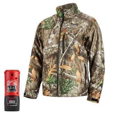 Milwaukee 222C-21 M12 Heated QUIETSHELL Jacket Kit, Realtree Camo