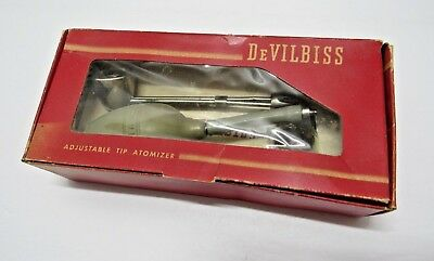 Antique Medical Device DeVilbiss  Atomizer No.15 ~ Nose Throat Spray Bottle