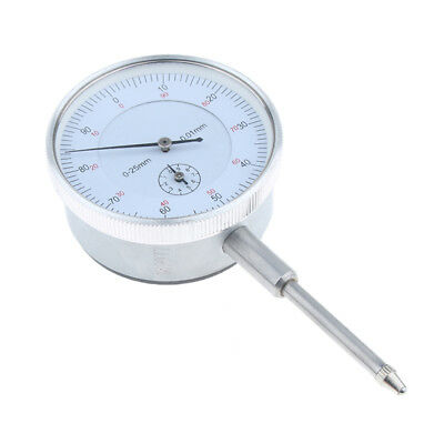 Precision Dial Test Indicator w/ Pointer, Metric, 0-25mm