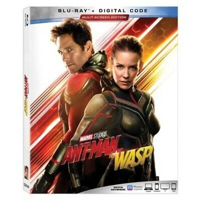 NEW Ant Man and The Wasp Blu-Ray Marvel - 2018