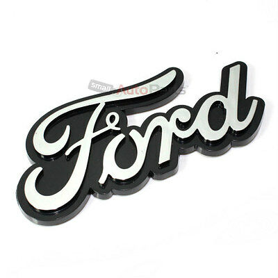 Ford Chrome ABS 3D Emblem-Badge-Nameplate Letters for Front Hood or Rear Trunk