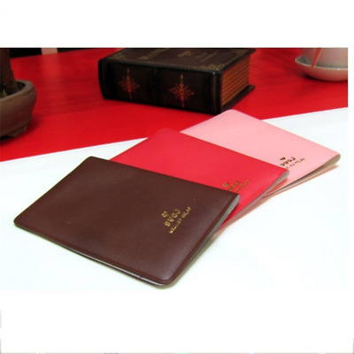 PU Leather Passport Case Holder Organiser Travel ID Credit Card Wallet Cover B