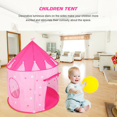 3pcs Childrens Kids Baby Play Tent And Tunnel Ball Pit Playhouse Pop Up Playtent