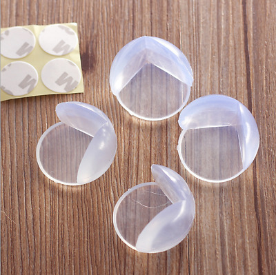 10PCS Silicone Table Corner Edge Protector Cushions Safety Cover for Child Baby