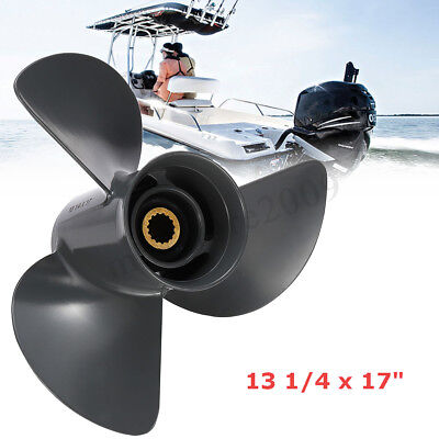 13 1/4 x 17 Boat Outboard Propeller For Mercury Mariner 70-150HP 48-77344A45