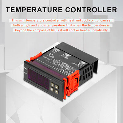 MH1230A Digital Temperature Controller 220V 30A Refrigeration Heating Regulator