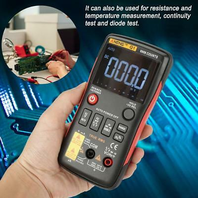 ANENG Q1 True-RMS Digital Multimeter 9999 Counts With Analog Bar Graph NCV AC/DC