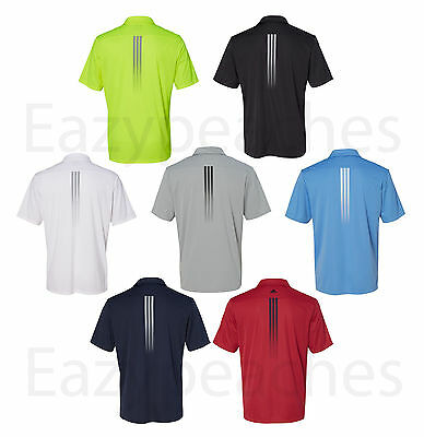 18896a2a99 ADIDAS GOLF - Gradient 3-Stripes Polo,Tailles Hommes S-3XL,Climalite ...