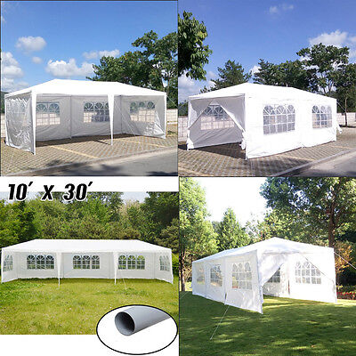 10'x20'/30 Outdoor Canopy Party Wedding Tent Heavy Duty Gazebo Pavilion Events