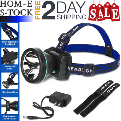 Headlamp Flashlight Bright Led Rechargeable Waterproof For Camping Hiking etc.