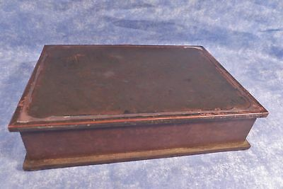 SilverCrest Arts & Crafts Bronze Sterling-decorated Humidor