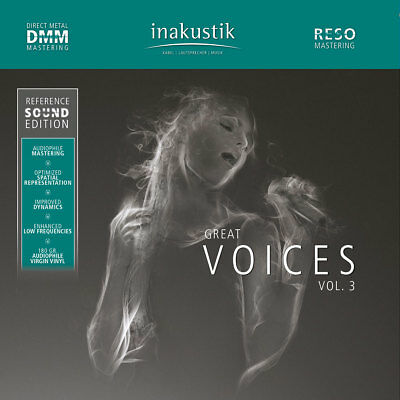 INAKUSTIK | Reference Sound Edition - Great Voices Vol. 3 180g 2LPs