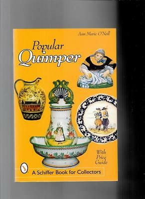 POPULAR QUIMPER POTTERY w PRICE GUIDE by  ANN MARIE O'NEILL