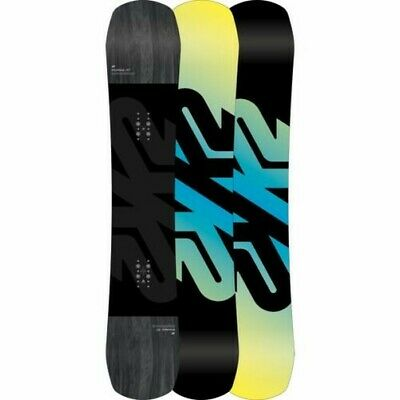 K2 Snowboard - Afterblack Wide - Camber All Mountain Freestyle - 2019
