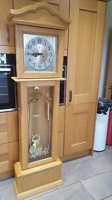 Modern Polaris Grandfather Clock, Used, Collect Only
