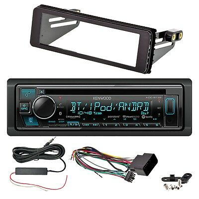 Kenwood Single-DIN Bluetooth Receiver, Dash Kit, Signal Reception Booster Kit