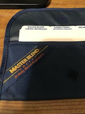 Master Blend Coffee Advertising Coupon Pouch