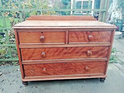 Antique chest of drawers. In satinwood (I think). Gorgeous.