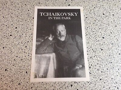 Vintage 1995 Postcard  Tchaikovsky  in the Park Performances Bridewell Theater