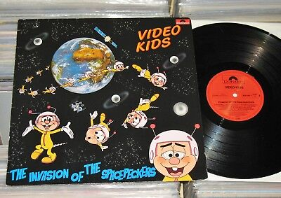 Video Kids - LP (VG++) The Invasion Of The Spacepeckers / polydor 1985 Germany
