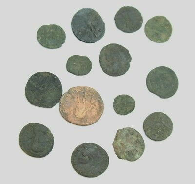 Small Lot of Roman Coins #35