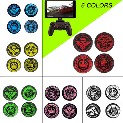 4pcs Analog Joystick Thumb Stick Grips Caps Cover for PS4 Xbox One Controller