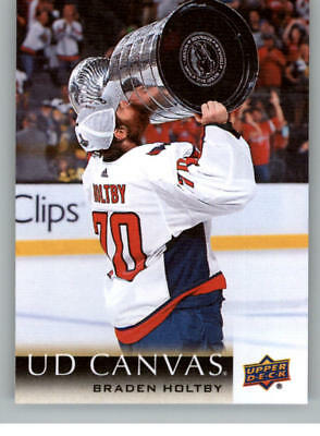 2018-19 Upper Deck Canvas (18-19 UD) Series One Hockey Cards Pick From List