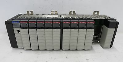 Allen Bradley 1756-A13 13 Slot Chassis w/ Cards CNB IA16 ControlLogix Rack PSCA2