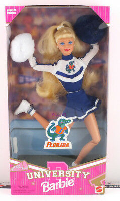 1996 University Barbie Doll Florida (jumping right) New from Dealer Stock