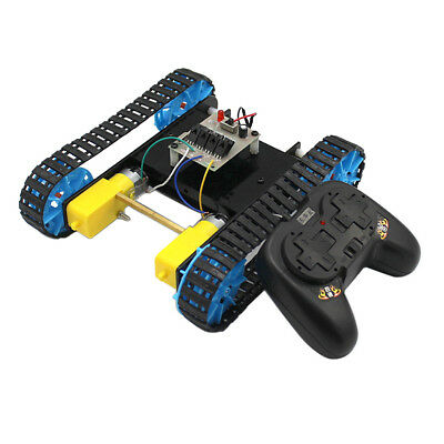 Tank Chassis Track Crawler & Remote Controller for Arduino DIY Robotics ACCS