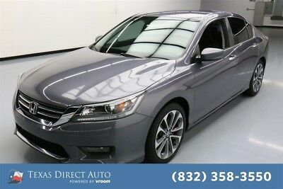2015 Honda Accord Sport Texas Direct Auto 2015 Sport Used 2.4L I4 16V Automatic FWD Sedan