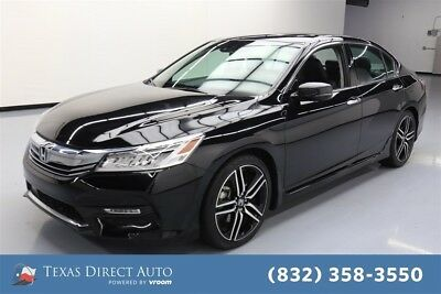 2016 Honda Accord Touring Texas Direct Auto 2016 Touring Used 3.5L V6 24V Automatic FWD Sedan