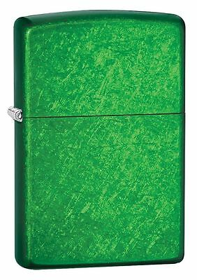 "Zippo ""Meadow Green"" Finish Lighter, Full Size, 24840"