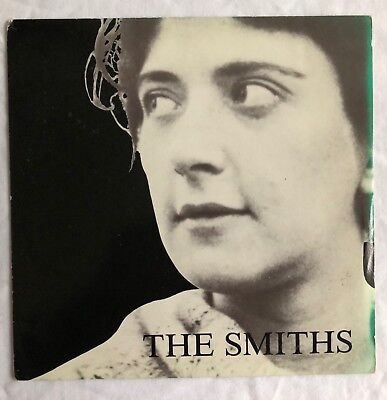 """The Smiths -Girlfriend In A Coma- UK 7"""" in Green tint picture sleeve (mispress)"""