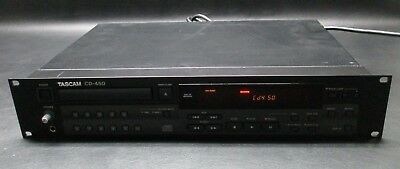 TASCAM CD-450 Professional Compact Disc CD Player