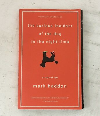 The Curious Incident of the Dog in the Night-Time by Mark Haddon PAPERBACK