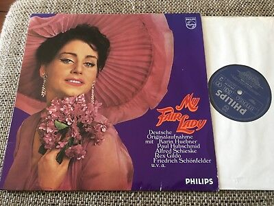 LP Philips MY FAIR LADY Theater des Westens Hubschmid Huebner