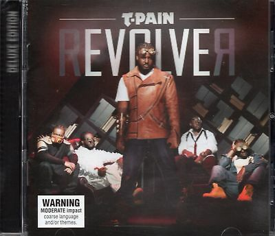 T-Pain - Revolver (2011 CD) Deluxe Edition - 3 Extra Tracks (New & Sealed)