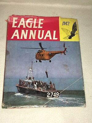 """Vintage """" Eagle Annual """" Dated 1962 Unclipped"""