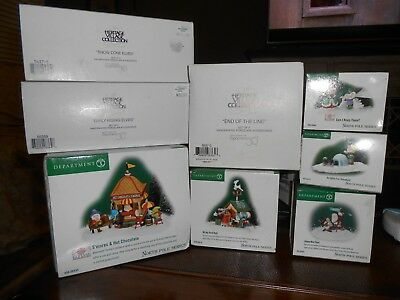 Department 56 North Pole Series Huge lot  NIB Lot of 9 items in boxes